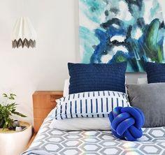 Tipps, was ihr mit blauen Tönen in der Wohnung bewirken könnt