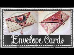 ▶ Valentine Envelope Card Tutorial ~ Noreen's Crafty Corner - YouTube