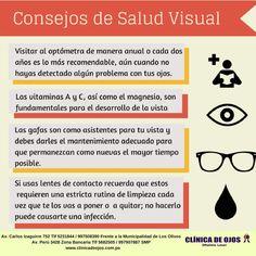Clínica de Ojos Oftalmic Láser  CONSEJOS DE SALUD VISUAL Cuidado De La  Salud 667d894a179c