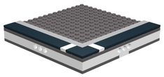 The Lego Micropolis standard and why you should build in it Micro Lego, Lego Boards, Lego Games, Lego Mechs, Lego Construction, Lego For Kids, Lego Storage, Lego Architecture, Lego House