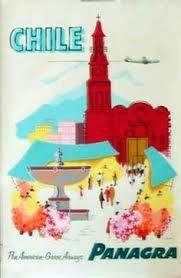 Resultado de imagen para vintage travel posters chile