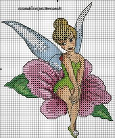 Thinkerbell cross stitch 2-3