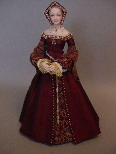 JANE SEYMOUR (Dollshouse doll by Debbie Dixon-Paver)