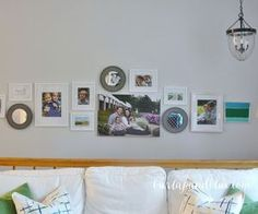 how to create a gallery wall, how to