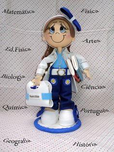 Boneca de EVA em 3D - Especialidade Prof
