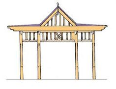 Build a decorative wood pergola in 1 weekend! many DIY plans here Small Garden Pergola, Corner Pergola, Pergola Attached To House, Pergola Swing, Deck With Pergola, Cheap Pergola, Pergola Shade, Patio Roof, Small Patio