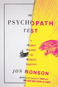 the psychopath test (jon ronson)  just finished this, which was a fun afternoon read for those who like non-fiction pop psychology/sociology