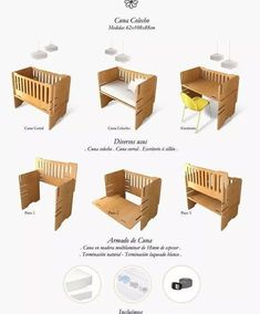 Picture result of handmade cots - baby room Baby Crib Diy, Baby Cribs, Baby Bedroom, Baby Room Decor, Room Baby, Colecho Ideas, Co Sleeper Crib, Newborn Bed, Baby Zimmer
