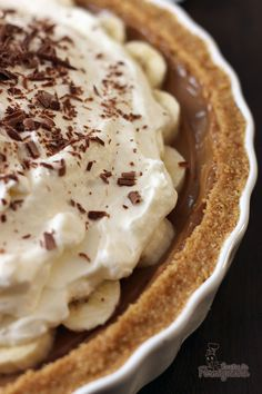 Banoffee Pie, Cheesecake Pie, Cupcakes, Sweets Cake, Chocolate, Wine Recipes, Food Photography, Food And Drink, Baking