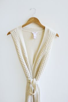 Everything Golden - Long Sweater Vest
