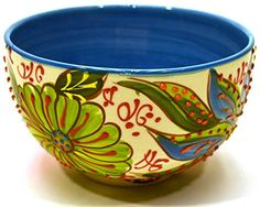 China Painting, Ceramic Painting, Stoneware, Sculptures, Mexico, Tableware, Art, Painted Plates, Serving Bowls