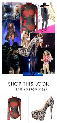 """Beyoncé-Performance Outfit"" by mrsmoxleyjoker on Polyvore featuring Marc Jacobs and Christian Louboutin"