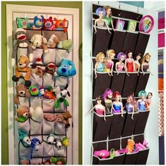 Toy storage with playful design for a clean and tidy child& room Girl Bedroom Designs, Kids Bedroom, Ideas Dormitorios, Kids Room Organization, Toy Rooms, Toy Storage, Storage Ideas, Wall Storage, Girl Room