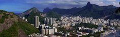 A Cidade Maravilhosa! - Botafogo - Cristo Redentor - Corcovado - Morro - Pão de Açúcar - Rio de Janeiro - Brasil - Brazil