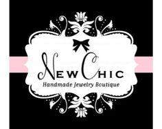 Premade Logo diseño - nuevo logotipo diseño elegante - accesorios de diseño Damasco - Boutique-