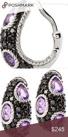 d70bf3d6a3c New Ripka Sterling Amethyst earrings New Ripka Sterling Amethyst earrings  New, no tags no box