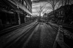 Fort Collins in B&W