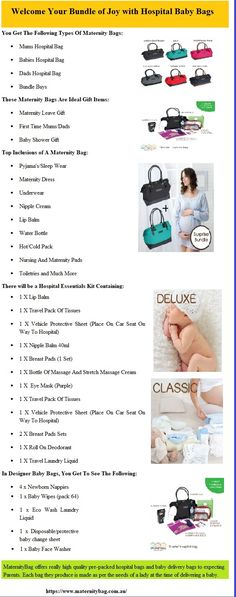 MaternityBag offers really high quality pre-packed hospital bags and baby delivery bags to expecting Parents. Each bag they produce is made as per the needs of a lady at the time of delivering a baby. Dad Hospital Bag, Packing Hospital Bag, Baby Delivery, Delivering A Baby, Dad Baby, Baby Bags, Maternity Dresses, Welcome, Baby Shower Gifts