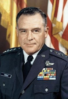 """John Daniel Lavelle was a USAF 4-star general who was removed from his position in 1972 and forced to retire due to alleged misconduct over bombing missions during the VN War while commanding the 7th Air Force. Lavelle was posthumously exonerated after secret files revealed the Nixon administration ordered him to carry out """"rogue"""" air strikes. Declassified documents and transcripts of the Nixon Tapes now show that more aggressive bombing in North VN had been secretly authorised in early…"""