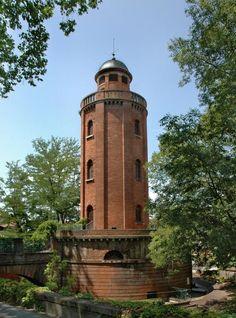 Le Château d'Eau, abritant une galerie photographique. Toulouse, Haute-Garonne