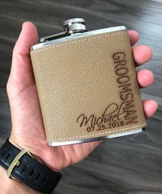 Groomsmen Proposal Bridesmaid Proposal Gift Best Man Personalize Flask Set Engraved Box Set Bachelor Party Maid of Honor Wedding Favor Gifts Groomsmen Flask, Groomsmen Gift Box, Groomsmen Proposal, Bridesmaid Proposal Gifts, Groomsman Gifts, Groomsmen Invitation, Gifts For Wedding Party, Wedding Ideas, Wedding Planning