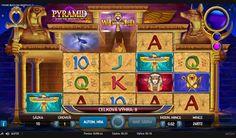 Automatová hra Pyramid Quest - Automatová hra Pyramid Quest for immortality je od spoločnosti NetEnt. Téma ako nám už názov napovedá bude z prostredia Egypta a pyramíd. Prvé čo si všimnete je nezvyčajné usporiadanie valcov. #hracieautomaty #vyherneautomaty #automatovehry #vyhra #jackpot #Pyramid #Quest