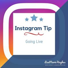 Instagram Tip: Going Live!  Once you have everything setup go ahead and click on 'Start Live Video' to start your broadcast.  When you start your Live Instagram will notify all of your followers e.g. lisa_hughes77 started a live video. Watch it before it ends!  So do you want to learn how to Crush it on Instagram?  Double Tap & TAG a friend if you like these awesome tips!  Want to learn more about How I help Home Business Owners Generate More Leads and Income Online or fancy working closely…