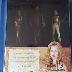 Diamond Select Toys - Buffy the Vampire Slayer Figure Set - Book of Vengeance. Limited Edition 3703/5000. #btvscollector #btvs #buffy #buffythevampireslayer