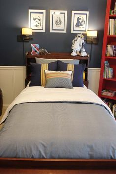 A Star Wars Themed Big Boy Room - Southern Revivals