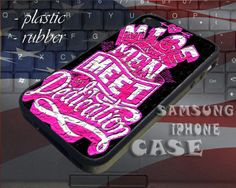 Of Mice And Men Band Logo Pink  iPhone by SUPREMECUSTOM on Etsy, $14.87