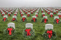 Title Wreaths Across America Artist Bill Gallagher Medium Photograph - Photograph