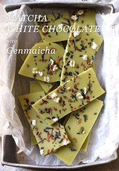 Matcha White #Chocolate with Genmaicha Tea @ The Whole Daily