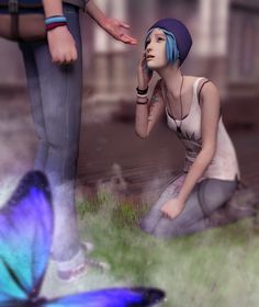 Life is Strange. Max and Chloe by Mary-O-o.deviantart.com on @DeviantArt