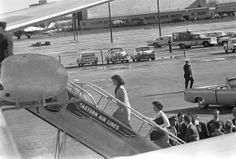 First Lady leaves Love Field Airport Dallas 1963