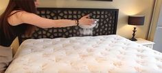 Nothing feels better than slipping into a clean bed with freshly-changed sheets. Want to take that feeling to the next level? Make sure that your MATTRESS is as clean as possible! Clean My Space is… Baking Soda On Mattress, Mattress Cleaning, Clean Mattress, Deep Cleaning, Cleaning Hacks, Cleaning Routines, Clean My Space, Bed Bugs, Dust Mites