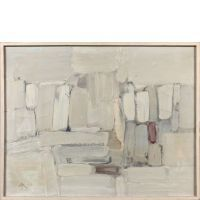 Fermin AGUAYO (1926 - 1977) Untitled - 1957 Oil on canvas