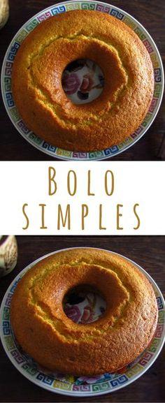 Bolo simples | Food From Portugal. Como o próprio nome indica, este é um bolo simples, muito agradável e fácil de preparar! Um bolo muito saboroso com o aroma do leite e do limão que é uma excelente solução para um lanche em família! #receita #bolo