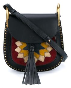 CHLOÉ Small Suede and Leather Hudson Bag