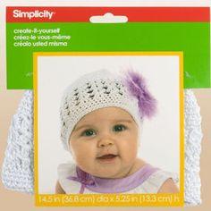 Create-It-Yourself Baby's Crochet Cap
