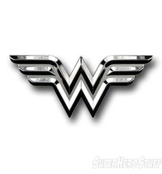 Wonder Woman car emblem.  This would be perfect next to my Spaghetti Monster.