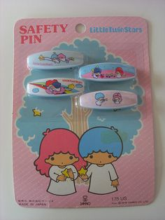 【1976】Safety Pins ★Little Twin Stars★