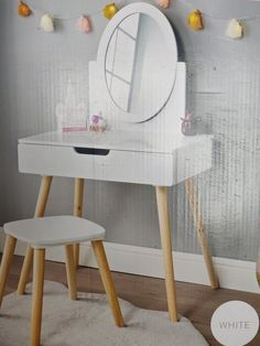 Homesavers | Heidi Vanity Set Kids Kids Vanity Set, Gaming Chair, Furniture, Home Decor, Interior Design, Home Interior Design, Arredamento, Home Decoration, Decoration Home