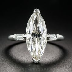 Browse vintage and antique diamond rings from every era including Victorian, Edwardian, Art Deco & more. Find the perfect ring online or in our San Francisco store. Diamond Face, Marquise Diamond, Diamond Gemstone, Gemstone Rings, Marquise Cut, Engagement Ring Buying Guide, Vintage Engagement Rings, Prom Jewelry, Jewelery