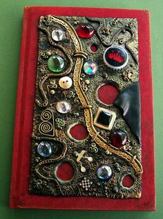 Red Steampunk Journal  by MandarinMoon, via Flickr