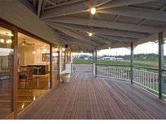 Home Renovation Outdoor Georgina Traditional Queenslander style home by Garth Chapman Queenslander House, Weatherboard House, Brisbane, Future House, My House, Hamptons House, Decks And Porches, Pergola Plans, Kit Homes