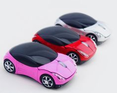 New! l car model cpmputer mouse Cool Wireless 2.4GHz Sport Car Shape Optical Mouse Mice Ergonomic Design for Computer Laptop(China (Mainland))