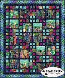 Skyline Sensation Free Pattern by Hoffman Fabrics
