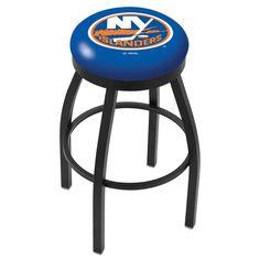 New York Islanders Swivel Bar Stool w/ Accent Ring