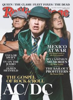 Rolling Stones one off the covers AC/DC have been on ~ November 13, 2008