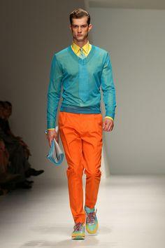 Salvatore Ferragamo Spring/Summer 2013 Menswear Collection. — Milan Fashion Week